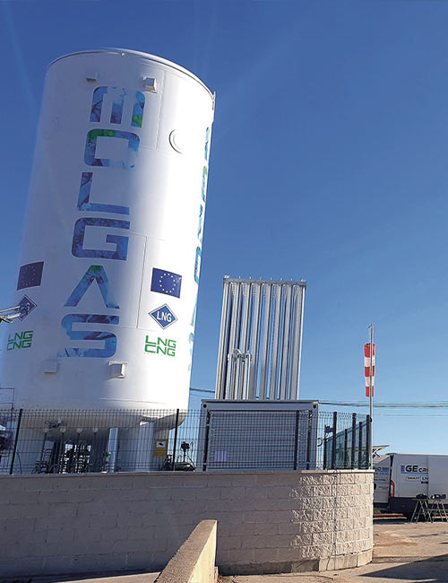 InfraVia invests in LNG infrastructure with the acquisition of Molgas